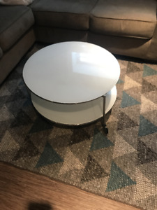Ikea Glass Top Round Coffee Table