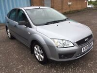 2005 Ford Focus 1.6 sport , mot - July 2018 , full ford service history 11 stamps ,astra,megane,golf