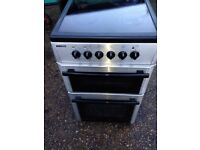 £98.00 Beko sls/Black ceramic electric cooker+50cm+3 months warranty for £98.00