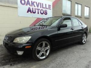 2001 Lexus IS 300 AUTOMATIC WINTER SET INCL SAFETY INCL