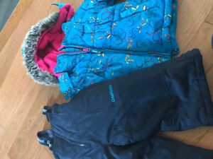 18 month girls snowsuit with boots