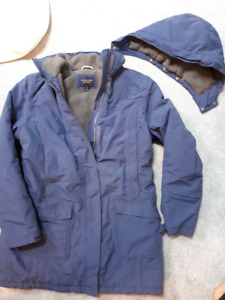 Women's Small winter coats various brands (TNA, Land's End...)