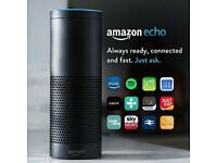 Amazon Echo, Black - Brand New Sealed £150 ONO