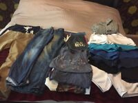 "Mens clothes bundle small/30"", 32"" waist"
