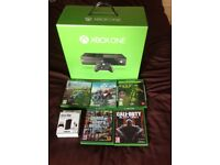 Xbox one boxed with games