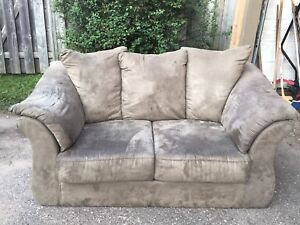 Couch/sofa and love seat, $150 obo