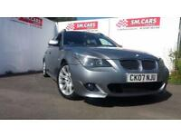 2007 07 BMW 535D TOURING IN A STUNNING METALLIC GREY.MOT JULY 18.FANTASTIC.CAR