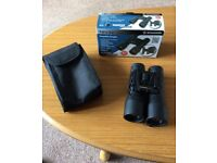 2x Binoculars Bresser 12 x 32 compact fully coated high image NEVER USED UNWANTED ok for spectacles