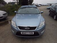 ford mondeo estate tdci 125 2007-07-reg, 1800cc turbo diesel, New mot, only 127,000 Miles,
