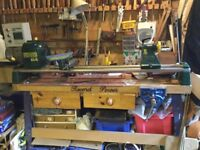 RECORD POWER CL 4 woodworking Lathe with Stand