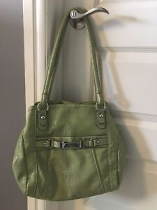 Green Rosetti Purse for sale