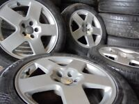 16inch genuine audi a3 alloys wheels 5x100 beetle tt polo skoda fabia vw bora s3 golf vrs