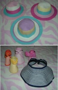Girl's Accessories 04 --- Brand NEW Sun Hats 8 pieces (3-6 yrs)