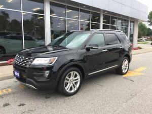 2016 Ford Explorer Limited AWD NAV Sunroofs Chrome Wheels