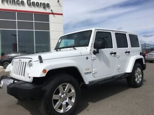 2014 Jeep Wrangler Unlimited Sahara w/Leather