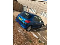 PEUGEOT 206 ZEST 2 1.1L - PASSED MOT IN MAY, NO ADVISORIES. NEW CAMBELT, CLUTCH, TYRES & BREAK PADS