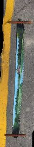 Hand Painted Decorative Saw