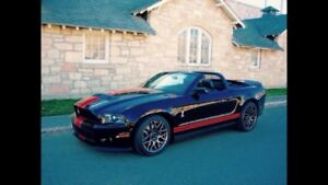 2011 Mustang Shelby GT500 Convertible - Track Package