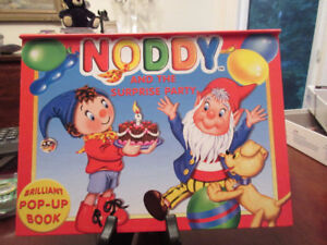 Noddy and the surprise party pop-up book UK 2002