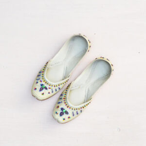 Beaded Indian Flats / Slippers