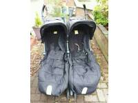 Mamas and papas twin stroller
