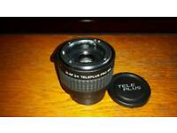 2x lens converter