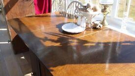 """""""50""""s gateleg table."""
