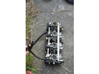 Suzuki bandit 600 parts carbs swing arm etc