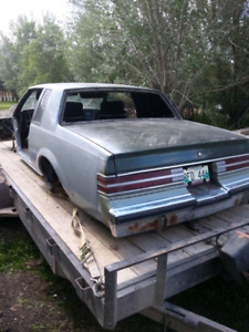 Parting out a 1985 Buick Regal