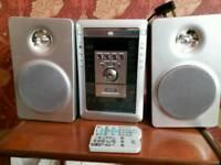 HiFi unit and speakers