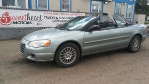 2005 Chrysler Sebring Convertible  one year free  warranty