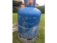 Calor 15kg empty butane gas bottle