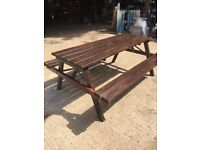 Sturdy Picnic Benches