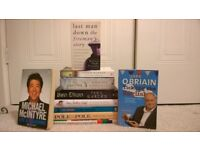 10 great books - all in excellent condition (4 hardback, 6 paperback - see list for details)