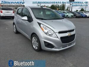 2015 Chevrolet Spark 1LT  -  Bluetooth - $73.75 B/W