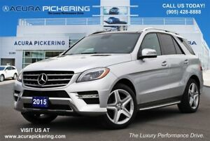 2015 Mercedes-Benz M-Class ML 350 BlueTEC|Navigation|Sunroof|AMG