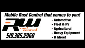 Mobile Rust Control. Why be without your vehicle or wait?