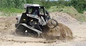 NEW PT80 TEREX TRACK SKID STEER LOADER