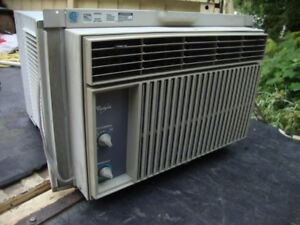 One Large (10,000 bdu?) window air conditioner