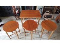 Vintage 1960 / 1970 Teak Nest of Tables