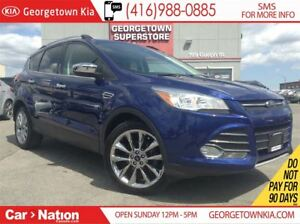 2014 Ford Escape SE NAVI| BACK CAM| CHROME WHEELS| LEATHER TRIM