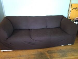 Couch with couch cover