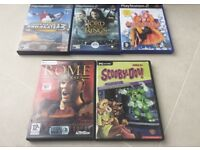 GAMES FOR PS2/PC and sims