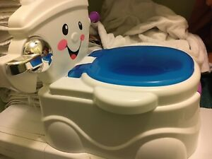 Musical baby toilet seat