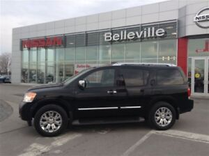 2015 Nissan Armada Platinum with all of the bells and whistles!