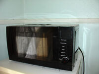 Microwave one year old hardly used