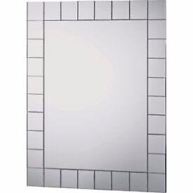 Mosaic rectangle mirror