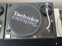 Technics SL 1210 M3D Plus New Ortofon Concord Needles.