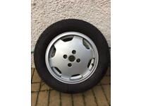 Audi 80 coupe cabriolet S2 golf VW alloy wheel tyre