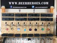 Musicians wanted for Beer Heroes Festival